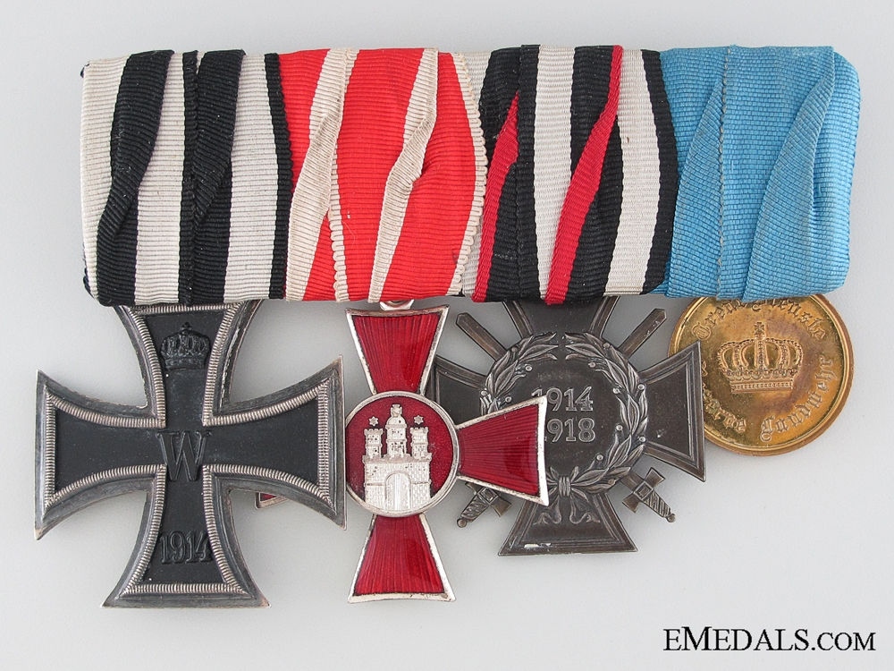 eMedals-An Imperial German Army Group of Four