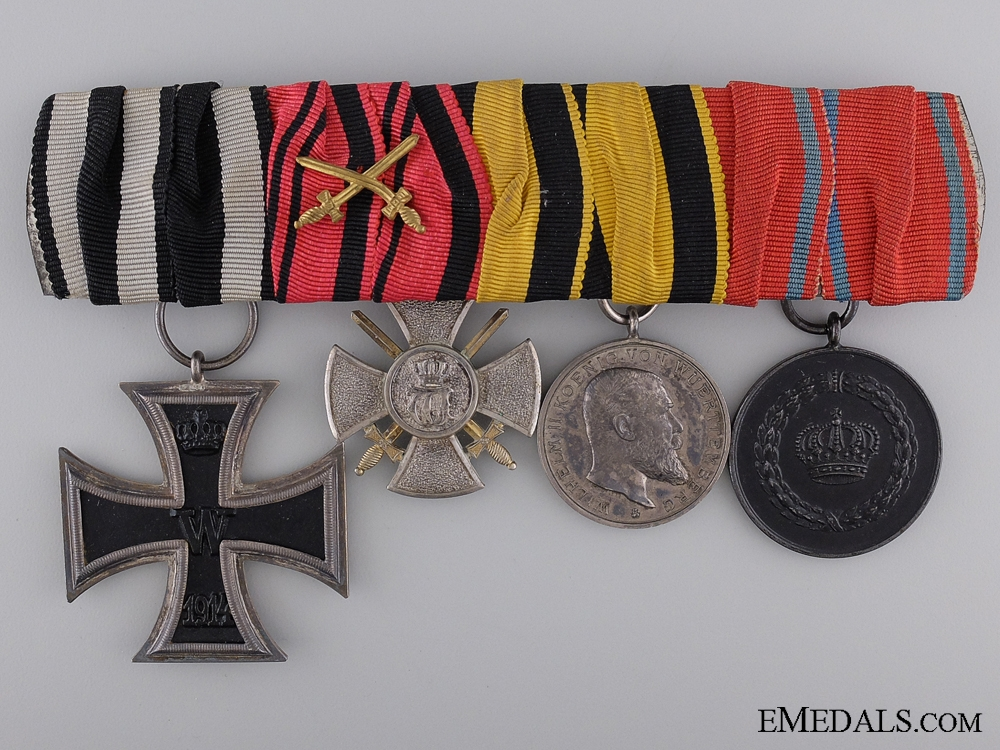 eMedals-Imperial German Army Group of Four