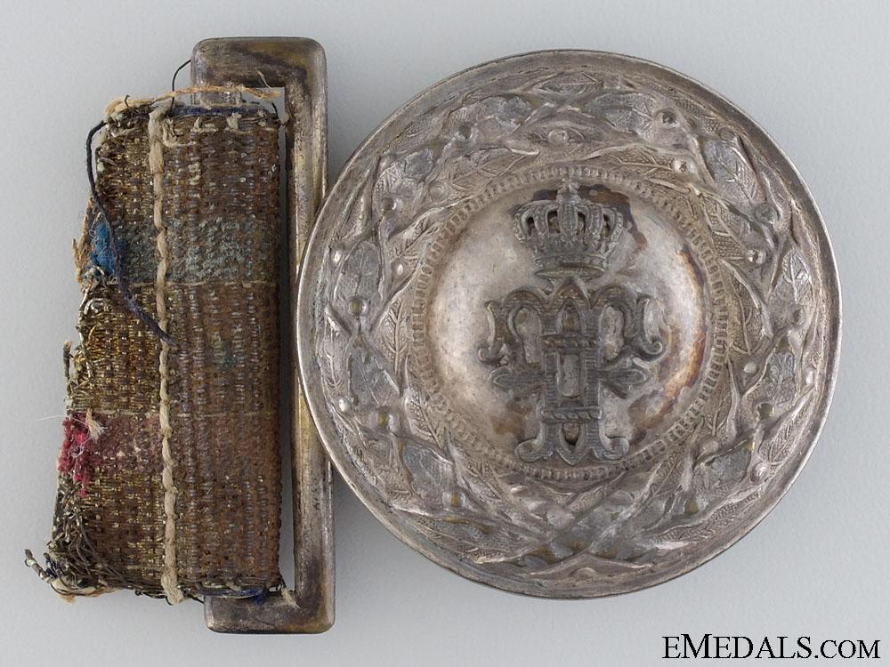 eMedals-An Imperial Hessen Officer's Belt Buckle