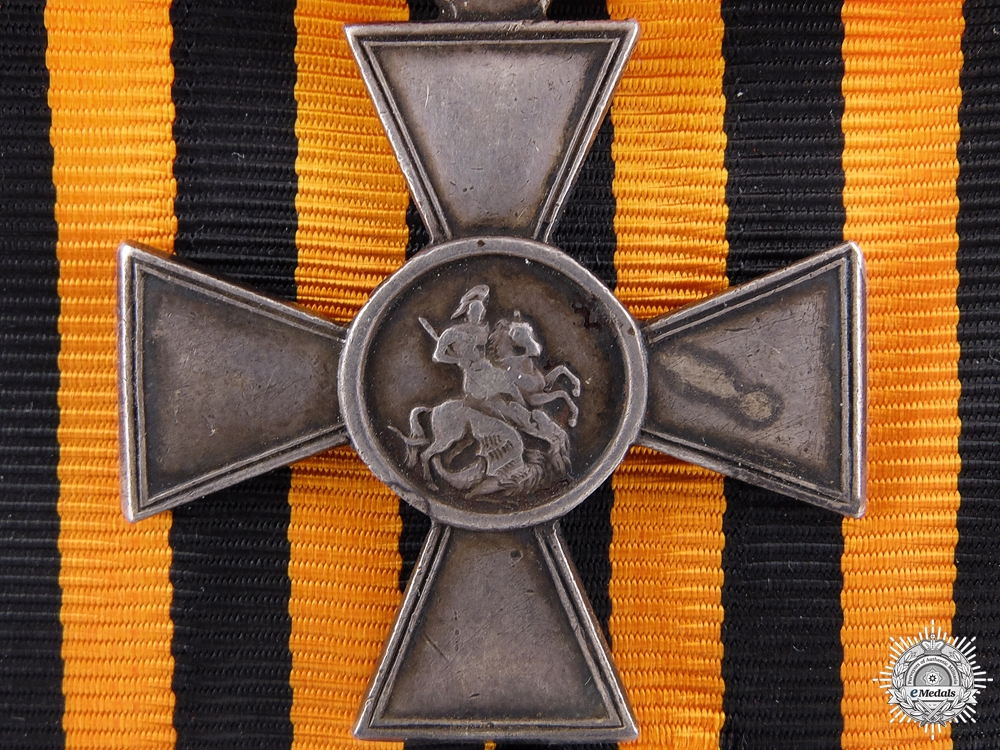 eMedals-An Imperial Russian St.George Cross; Fourth Class
