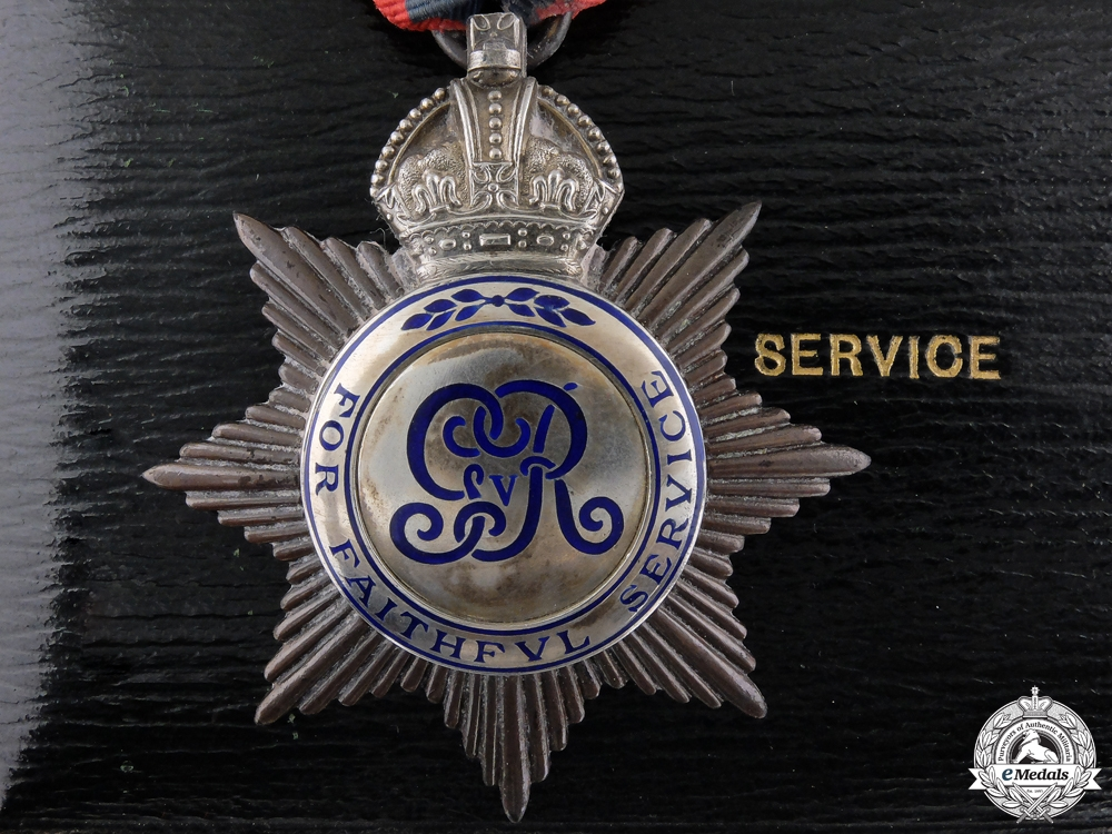 eMedals-An Imperial Service Medal to Thomas. J.Woodward