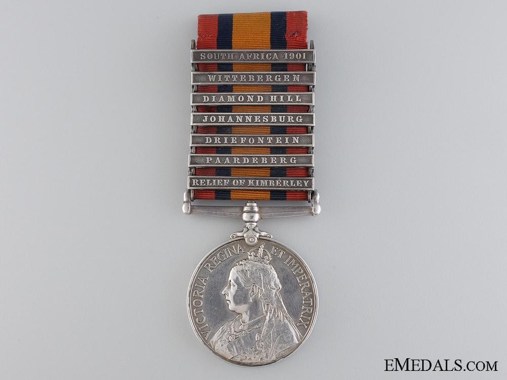 eMedals-An Impressive Queen South Africa Medal & Near Victoria Cross