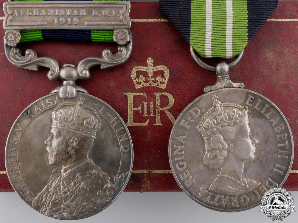 eMedals-An India & Special Constabulary Medal Pair