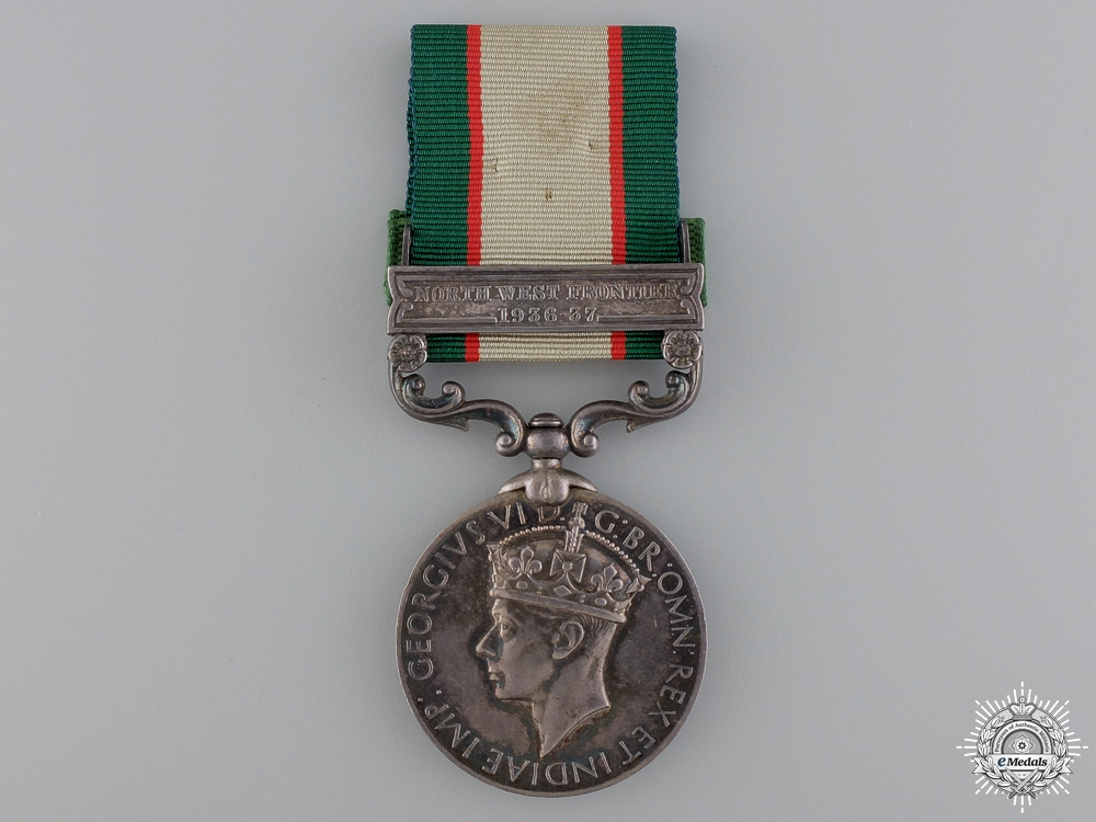 eMedals-An India General Service Medal to Road Construction Battalion