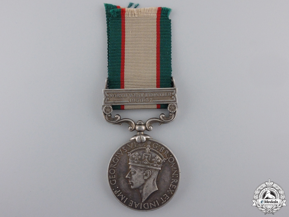 eMedals-An India General Service Medal to the 2/2 Punjab Regiment; Casualty
