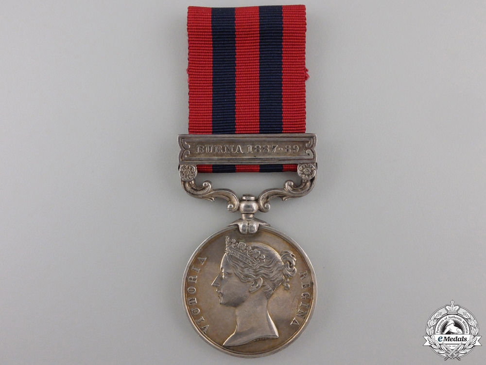 eMedals-An India General Service Medal 1854 to the Rifle Brigade