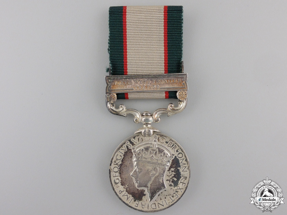 eMedals-An India General Service Medal to the Frontier Force Regiment