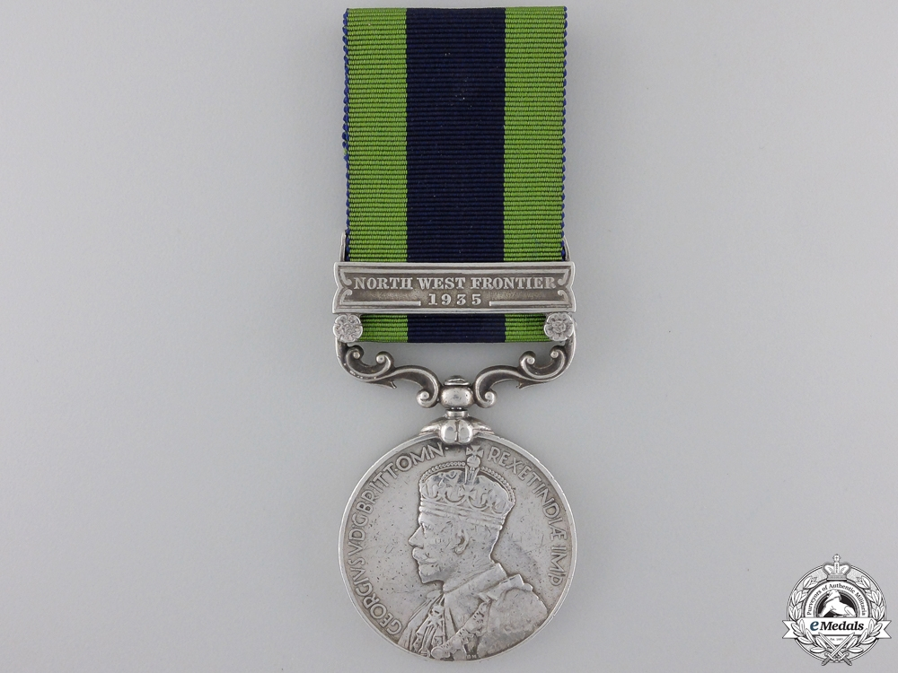 eMedals-An India General Service Medal to the 1/15 Punjab Regiment