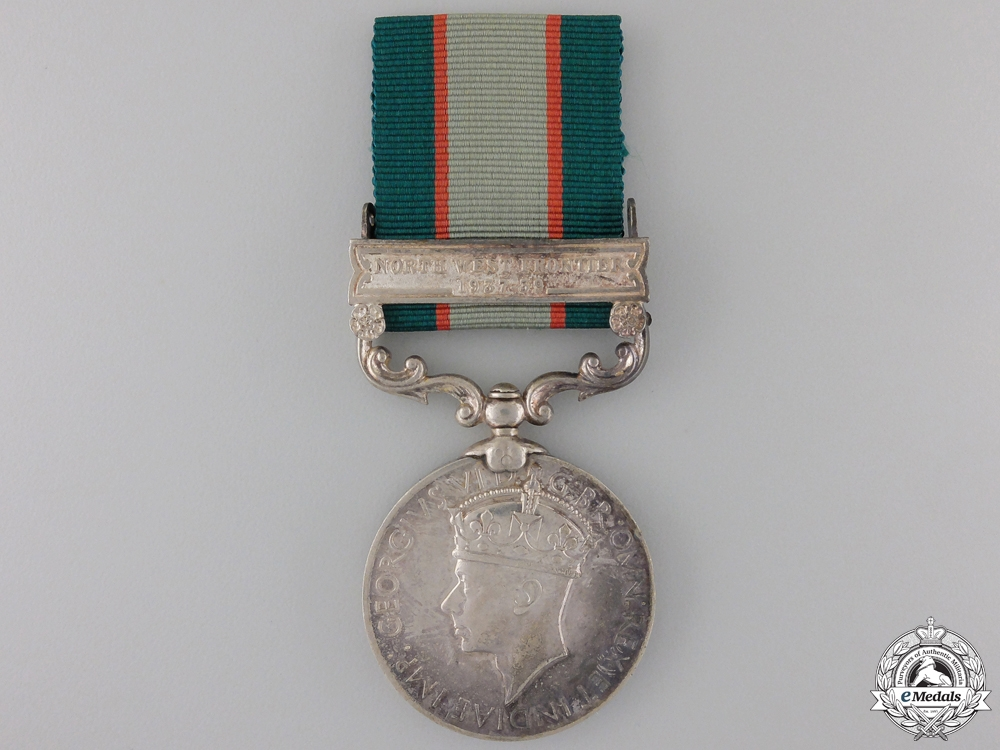 eMedals-An India General Service Medal to the 3/10 Baluch Regiment