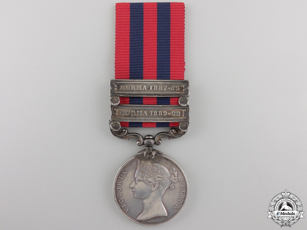 eMedals-An India General Service Medal 1854 to the Burma Military Police