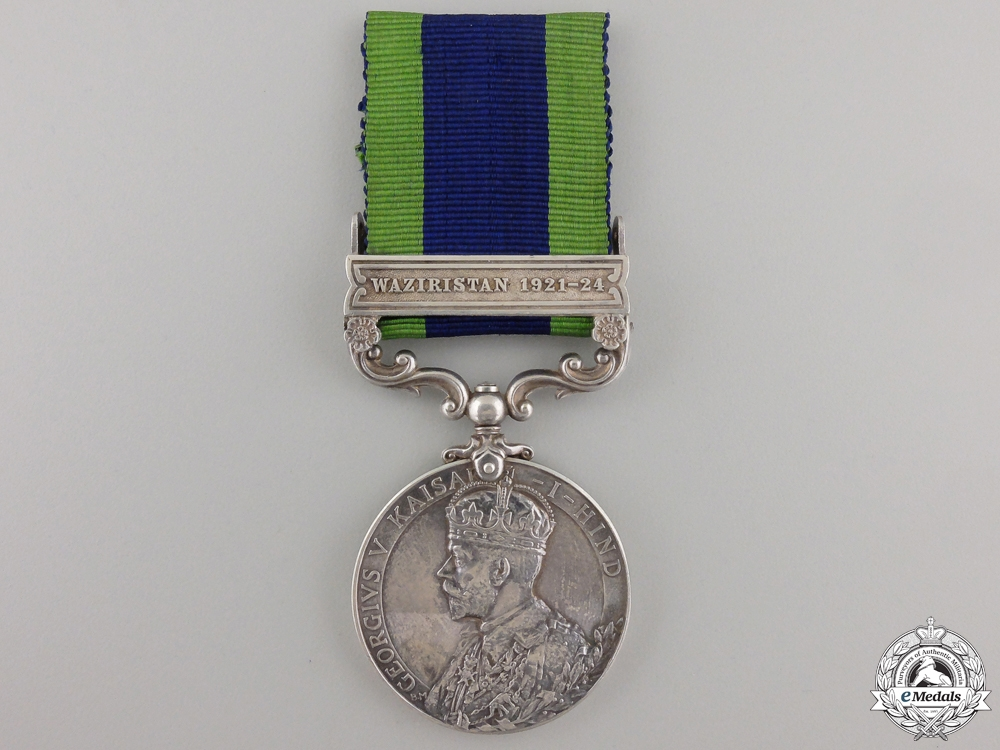 eMedals-An India General Service Medal to the Worcestershire Regiment