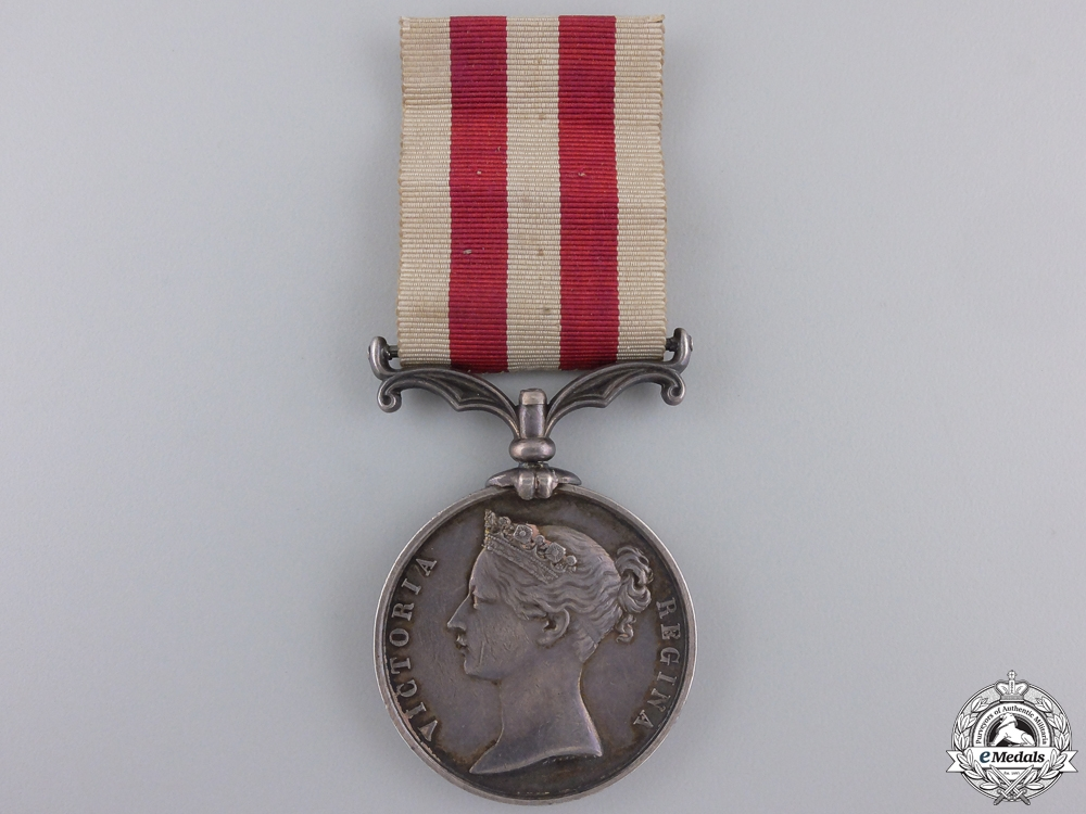 eMedals-An India Mutiny Medal to the Royal Artillery
