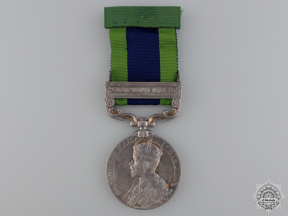eMedals-An India Service Medal to the 3rd Sikh Pioneers