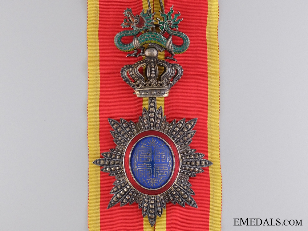 eMedals-Annam, French Protectorate. An Imperial Order of the Dragon, Commander, c.1910