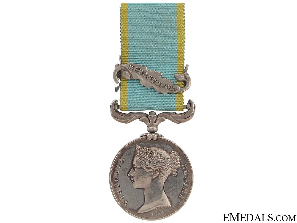 eMedals-An Interesting Crimea 1854-56 Medal