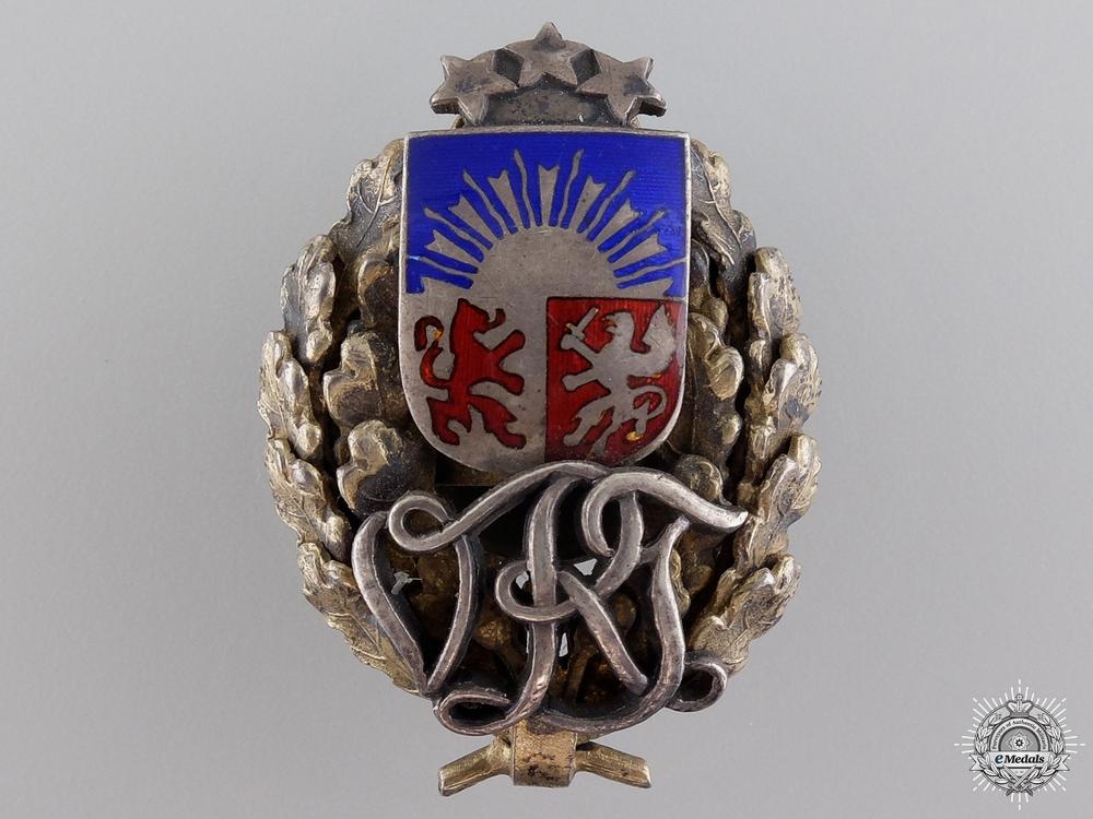 eMedals-An Interwar Latvian Military Badge  c.1930