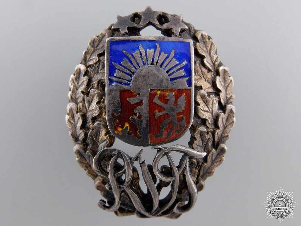 eMedals-An Interwar Latvian Military Badge