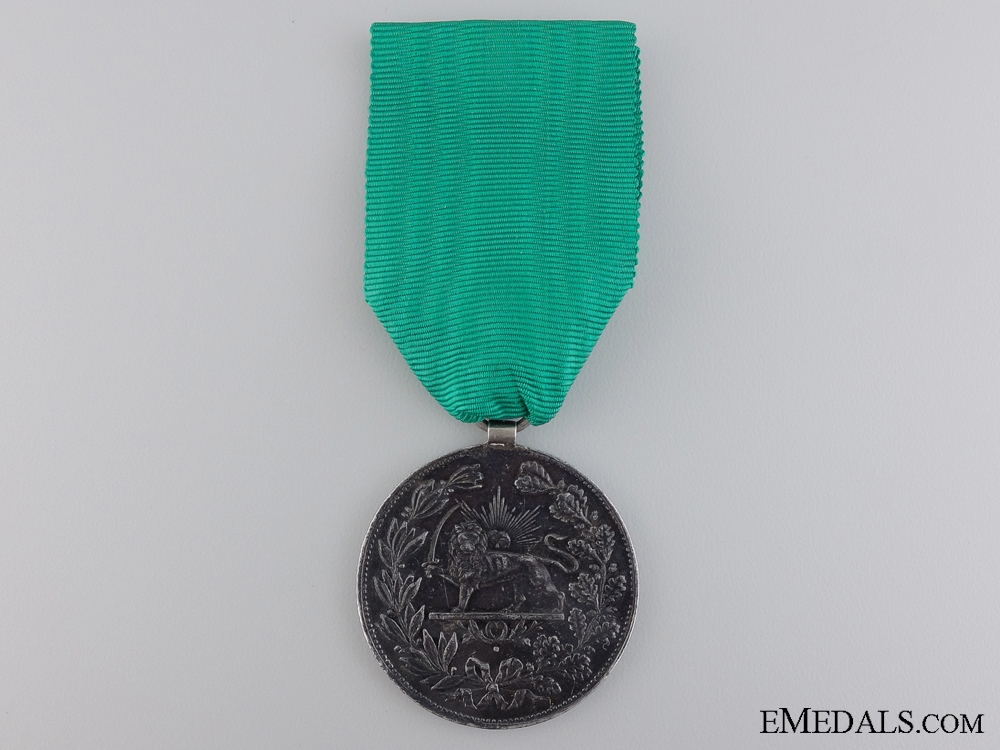 eMedals-An Iranian Medal for Bravery; 2nd Class 1901 (1317)