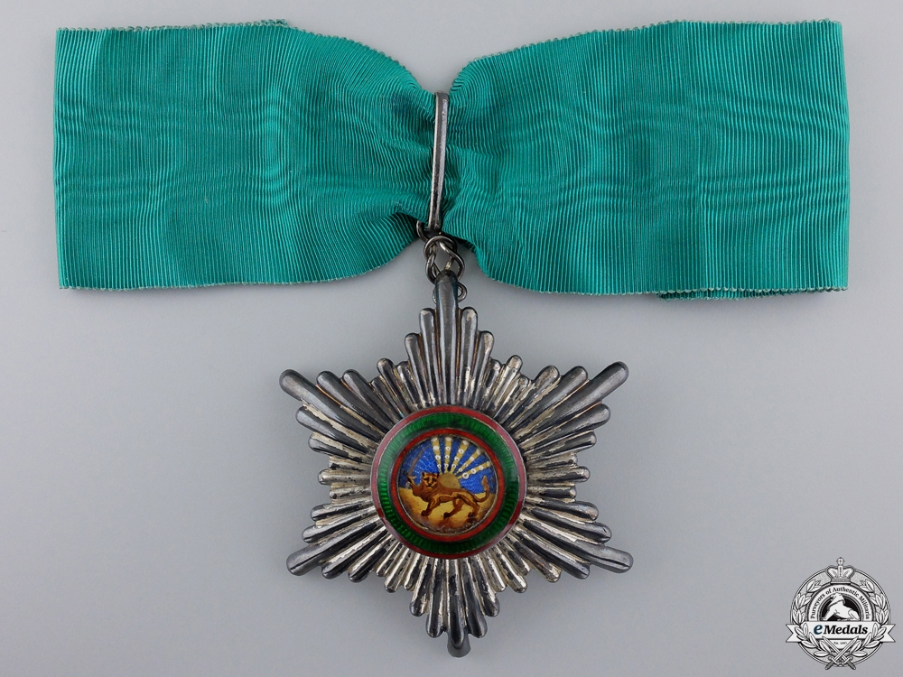 eMedals-An Iranian Order of Homayoun; Military Division