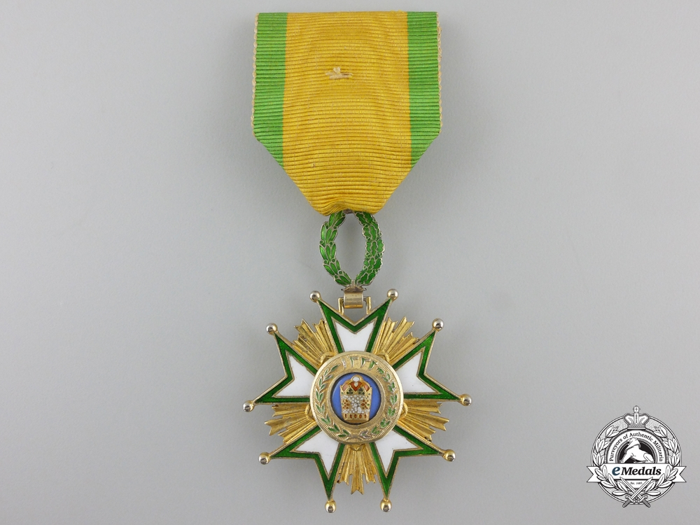eMedals-An Iranian Order of the Crown; 4th Class Officer