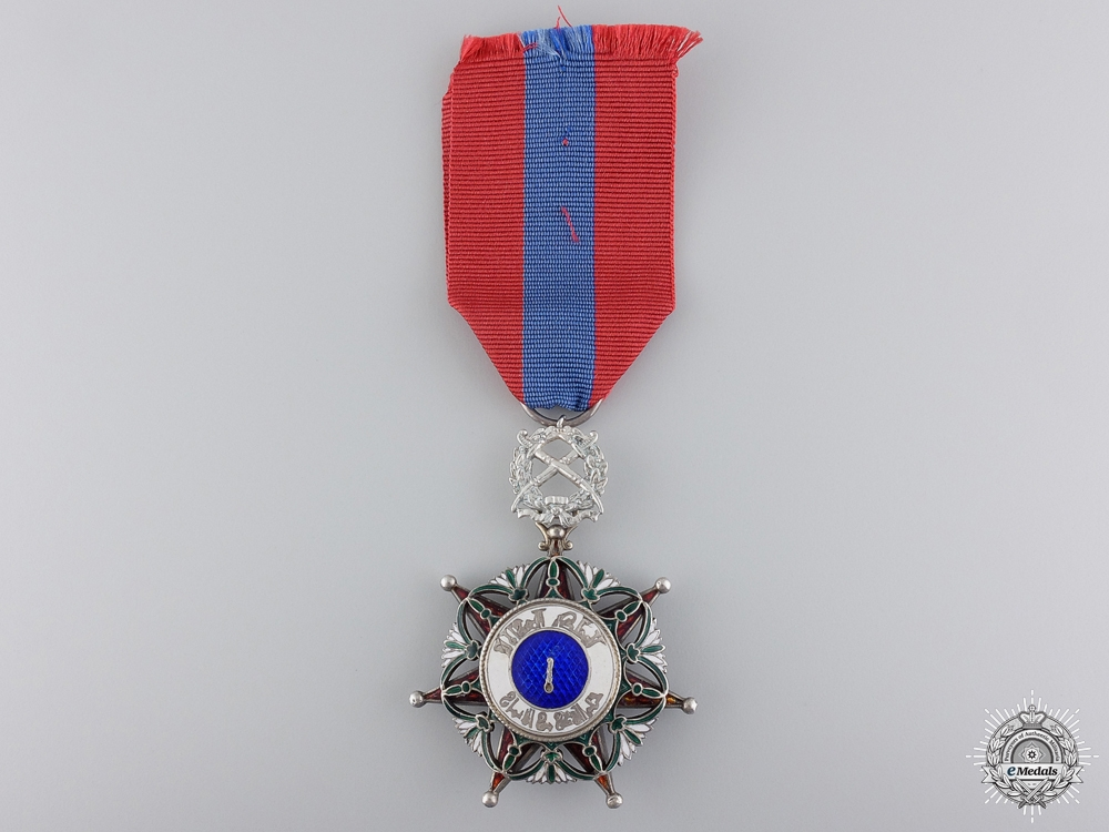 eMedals-An Iraqi Order of El Rafidian with Swords; 5th Class