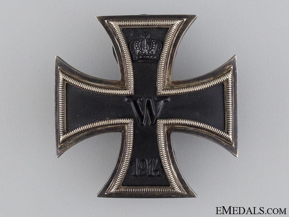 eMedals-An Iron Cross 1st Class 1914; Duel Screw Posts