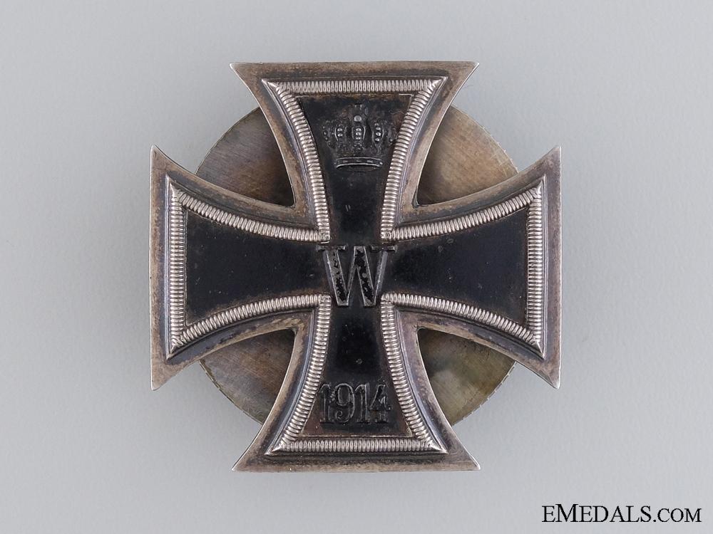 eMedals-An Iron Cross 1st Class 1914; 925 Silver Hallmarked