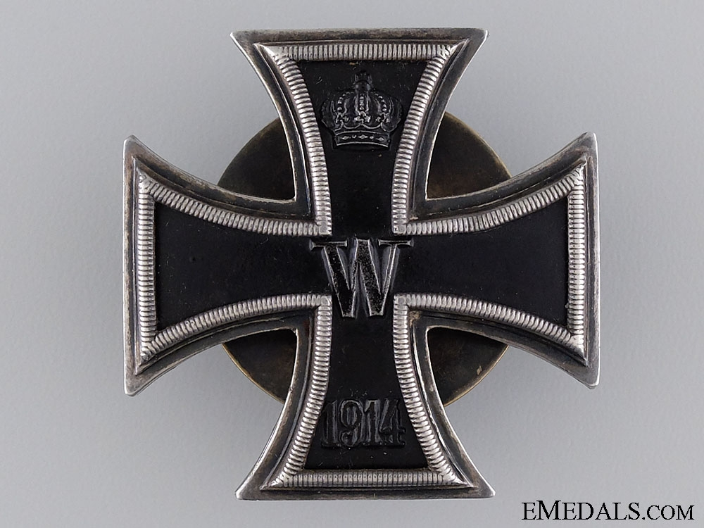 eMedals-An Iron Cross First Class 1914; Screwback