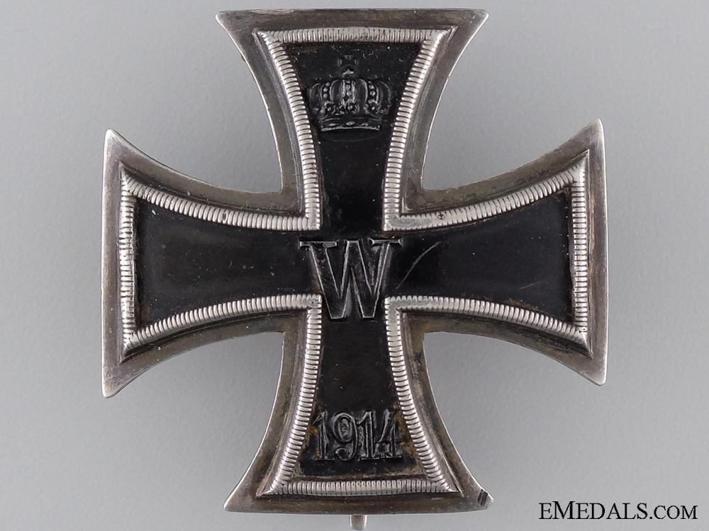 eMedals-An Iron Cross First Class 1914 by J.W.Werner of Berlin
