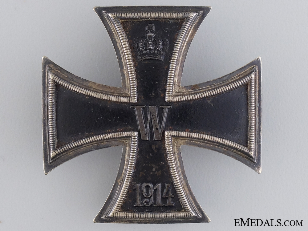 eMedals-An Iron Cross First Class; Maker Marked