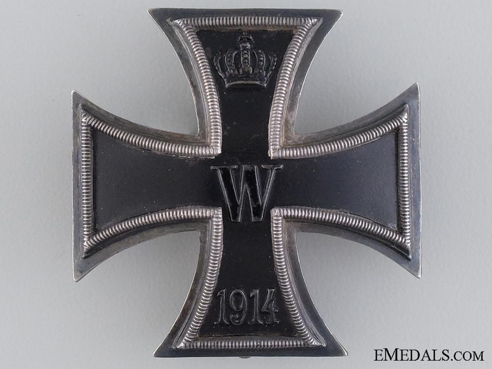 eMedals-An Iron Cross First Class; Marked 800 Silver