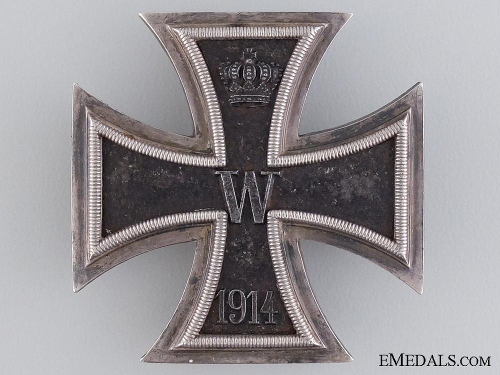 eMedals-An Iron Cross First Class 1914; Maker Marked