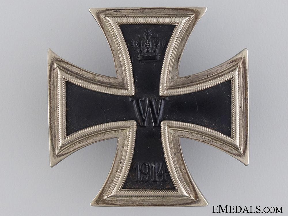 eMedals-An Iron Cross First Class 1914; Screw Back Version