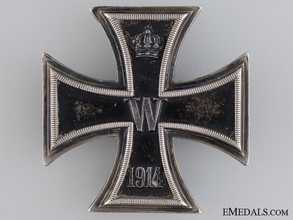 eMedals-An Iron Cross First Class 1914 by 'Wagner & Sohn'