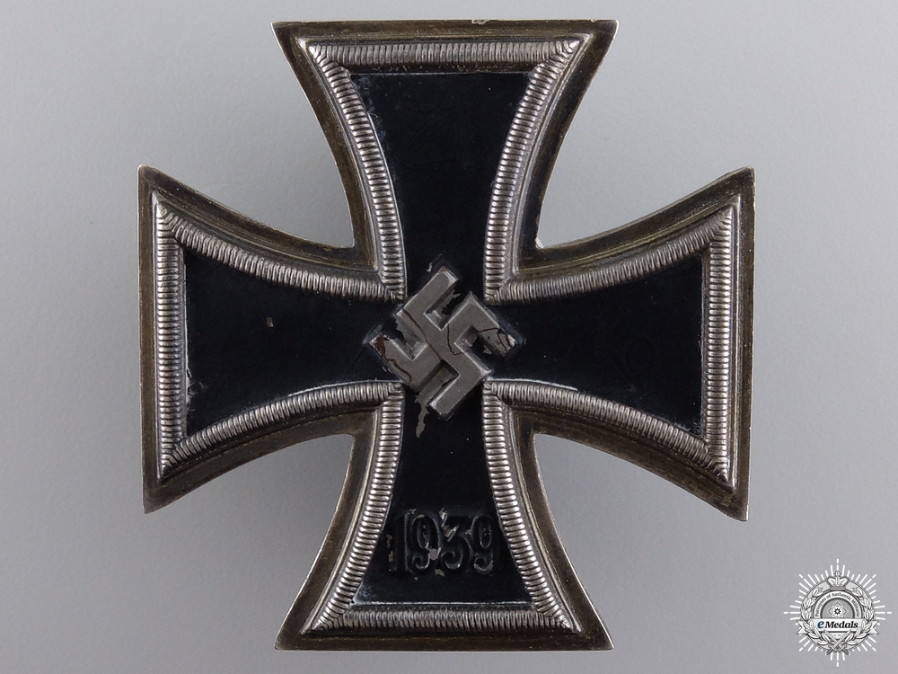 eMedals-An Iron Cross First Class 1939 by Zimmermann