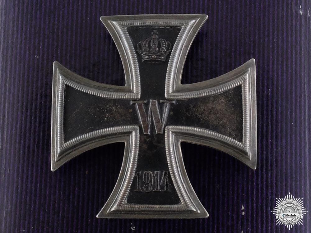 eMedals-An Iron Cross First Class 1914 with Case