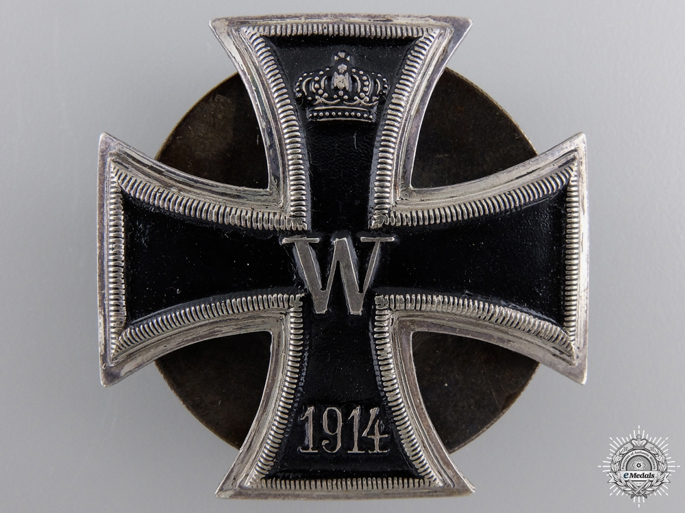 eMedals-An Iron Cross First Class 1914; Screwback Version