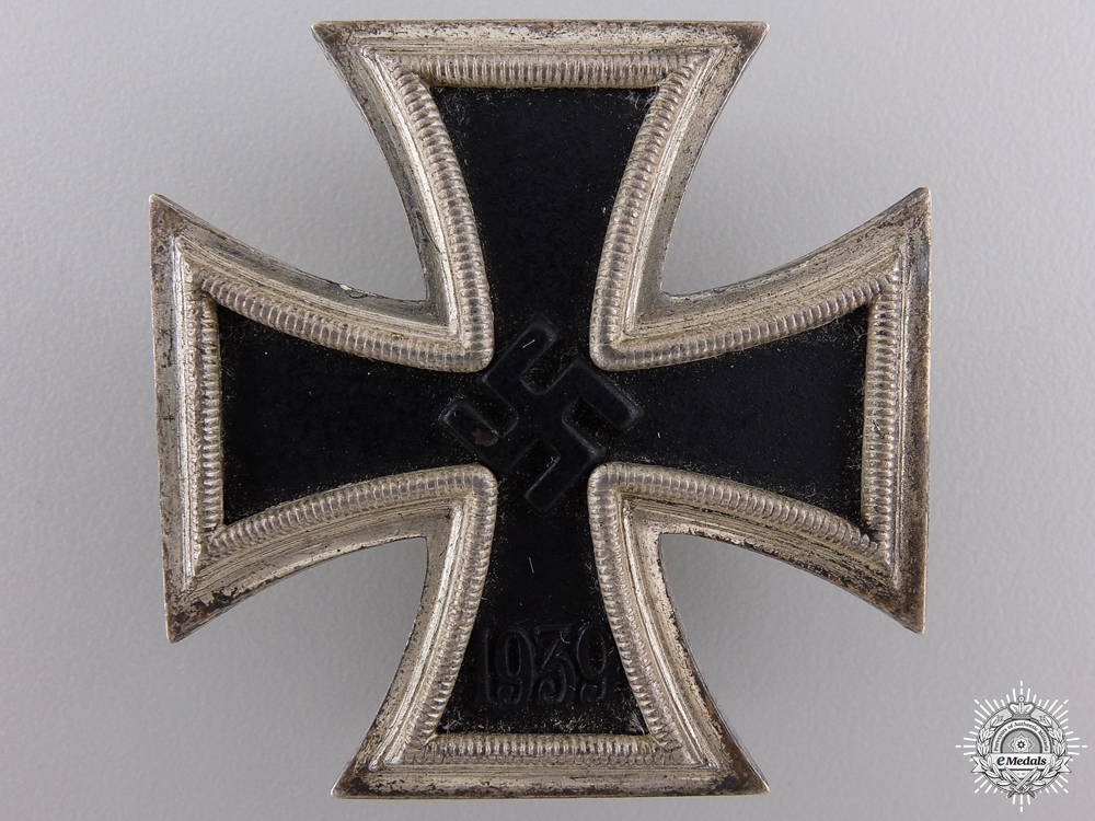 eMedals-An Iron Cross First Class 1939 by Wilhelm Deumer