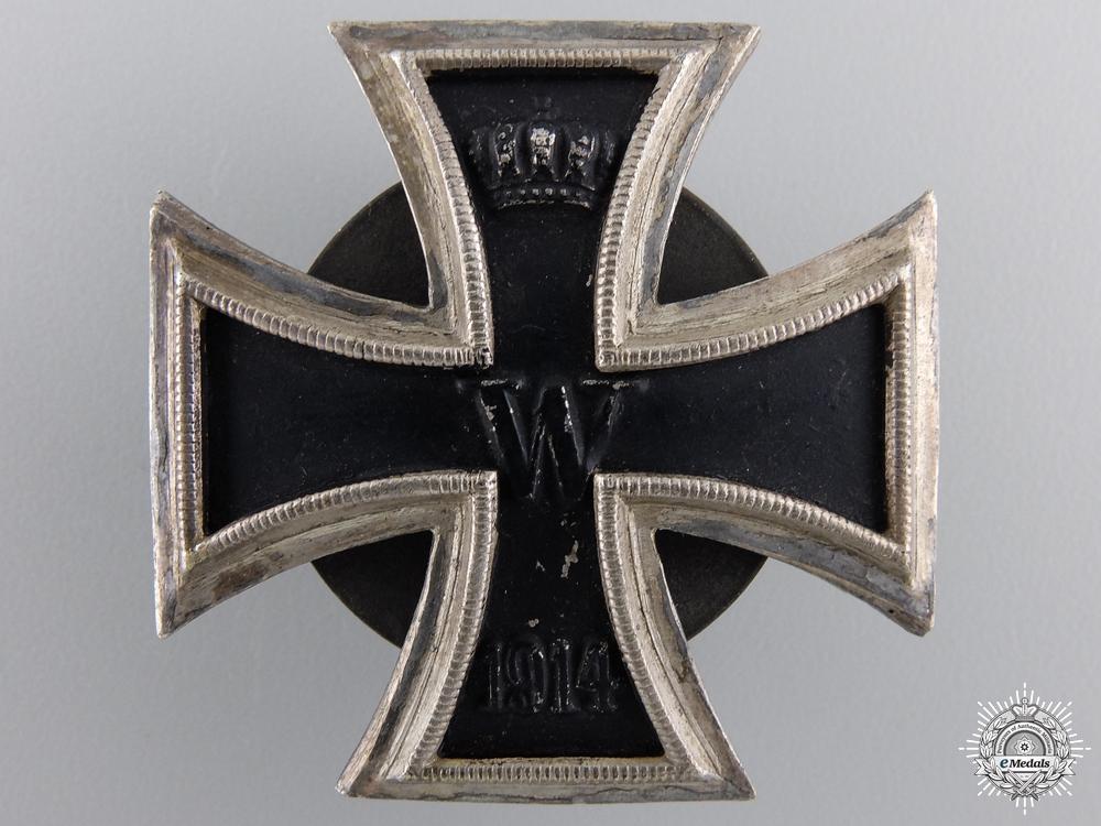 eMedals-An Iron Cross First Class 1914; Screwback