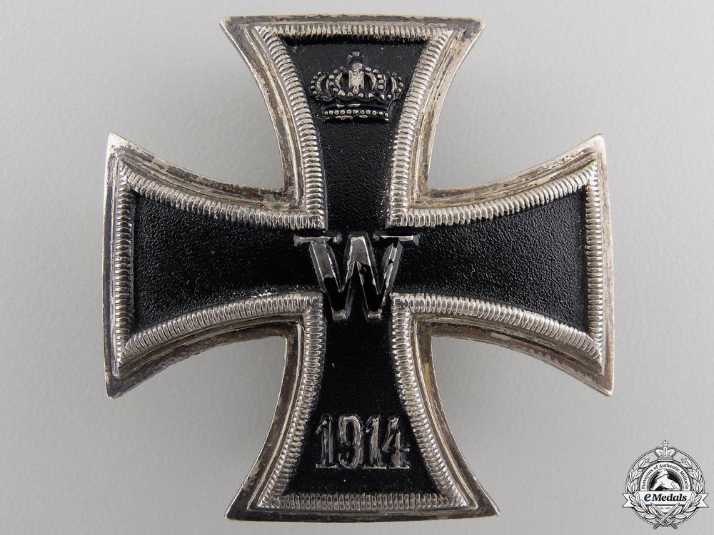 eMedals-An Iron Cross First Class 1914; Silver