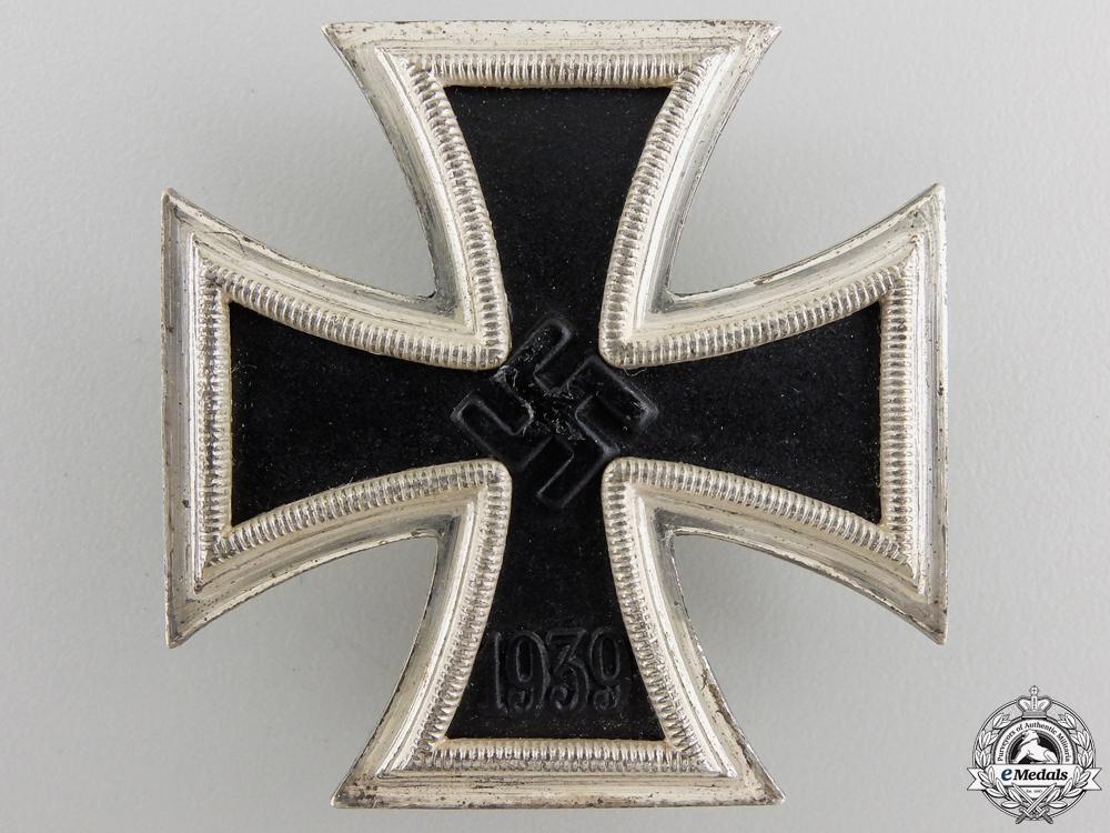 eMedals-An Iron Cross First Class 1939 by Wilhelm Deumer