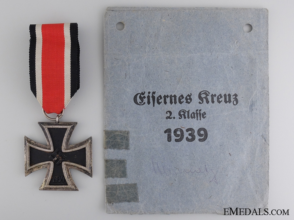 eMedals-An Iron Cross Second Class 1939 with Packet of Issue