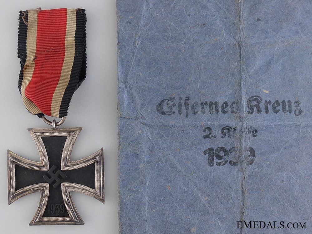 eMedals-An Iron Cross Second Class 1939 by Moritz Haupt