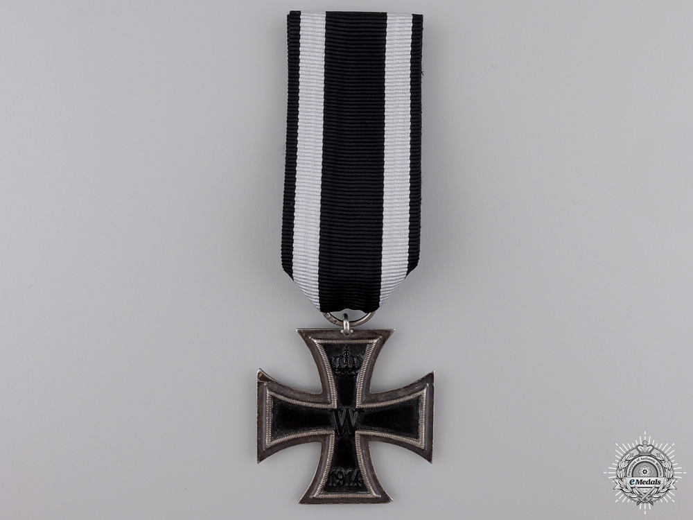 eMedals-An Iron Cross Second Class 1914; Marked KAG
