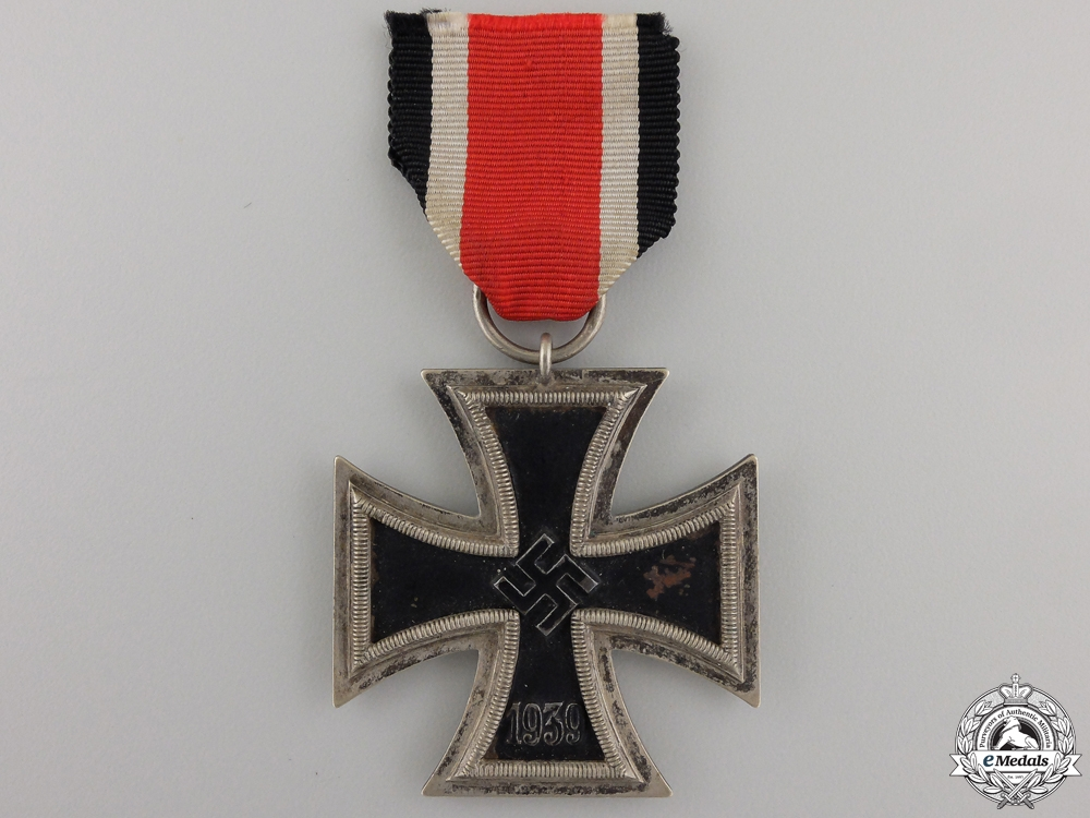 eMedals-An Iron Cross Second War Class 1939 by Ernst L. Müller