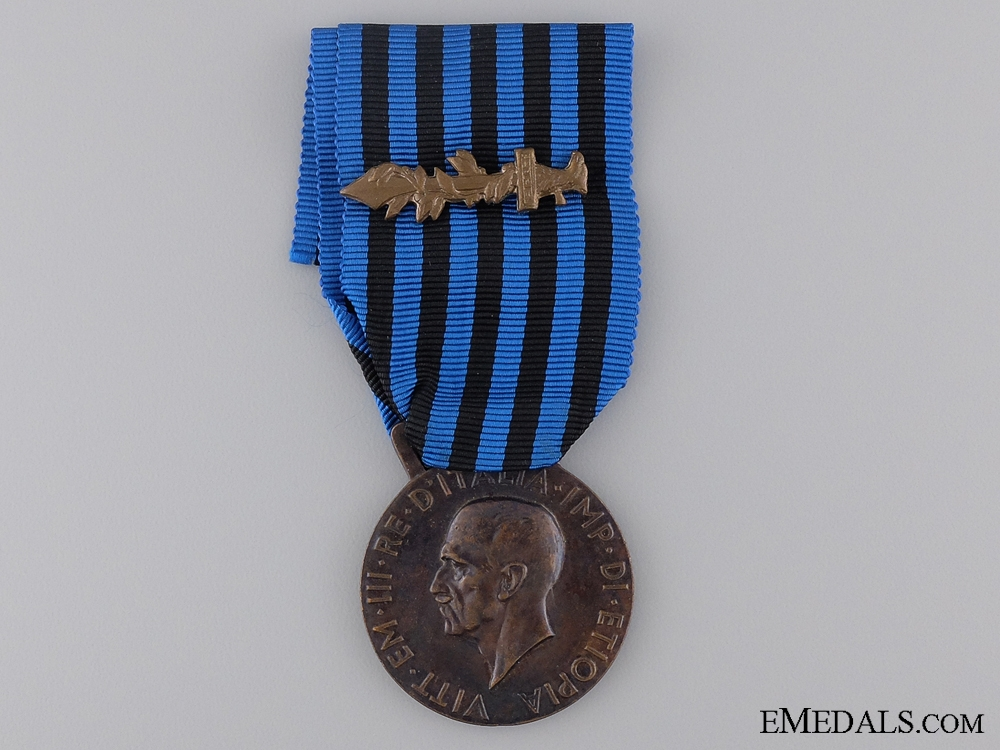 eMedals-An Italain Campaign Medal for Operations in East Africa