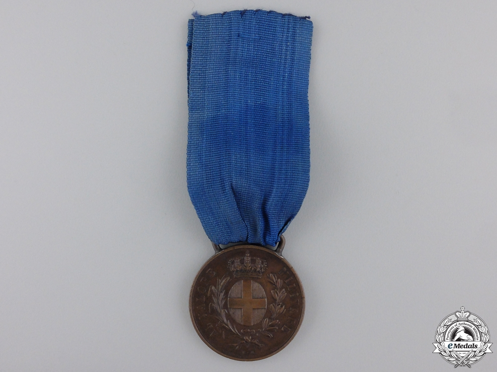 eMedals-An Italian 1941 Military Medal for Valour to Selmi Carlo