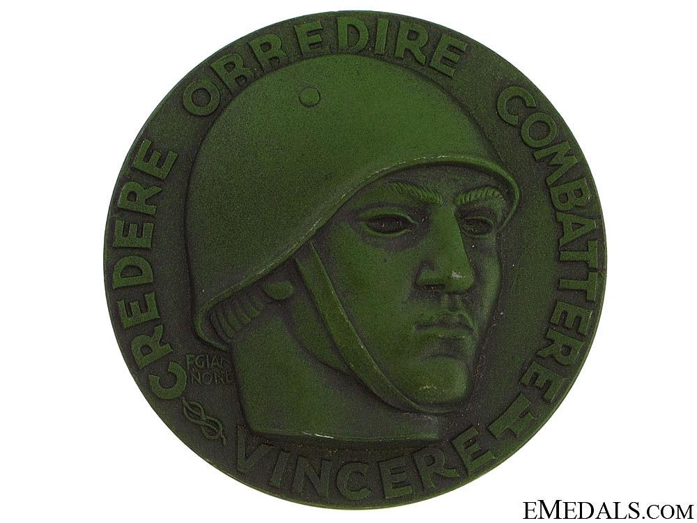 eMedals-An Italian 1942-43 Table Medal