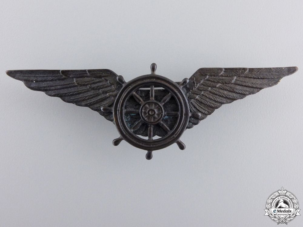 eMedals-An Italian Airship Pilot's Wings