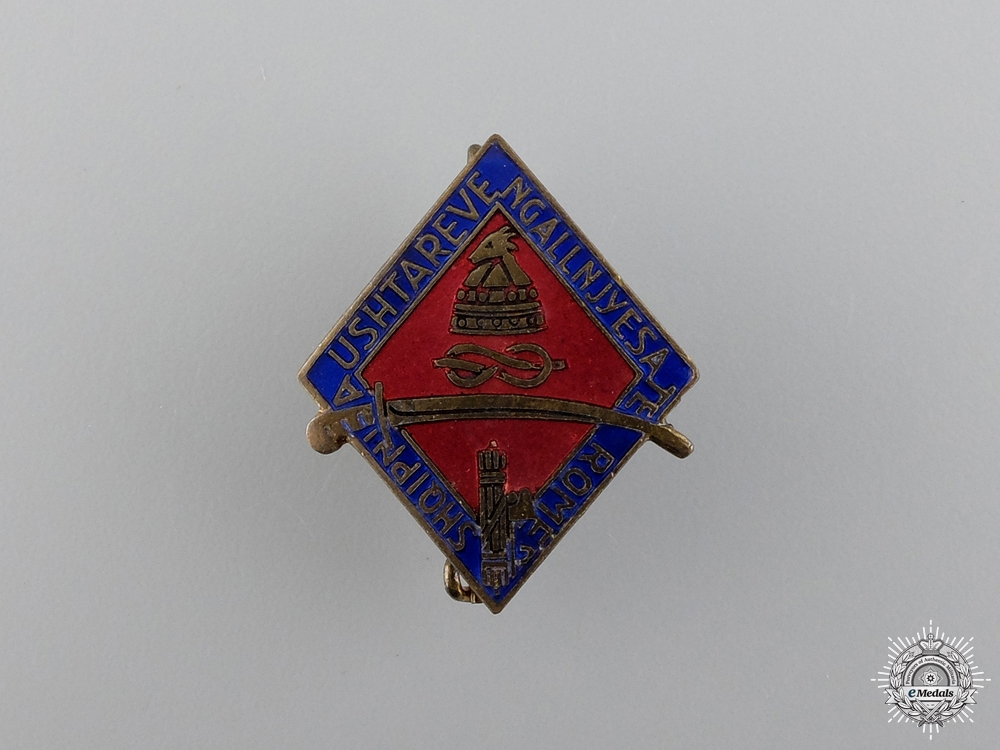 eMedals-An Italian Albanian Campaign Veteran's Commemorative Badge